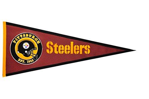 Winning Streak NFL Pittsburgh Steelers Pigskin Pennant ()