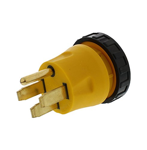 ABN RV Power Cord Electrical Locking Adapter, 50A Male to...