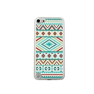 WEV Colorful Design Leather Vein Pattern PC Hard Case for iPod touch 5