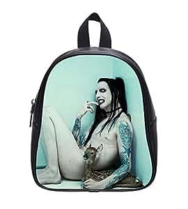 Marilyn Manson Custom School Bag Backpack L