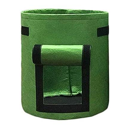 Amazon.com : Cloth Planters - Plant Grow Bags Nonwoven Cloth ...