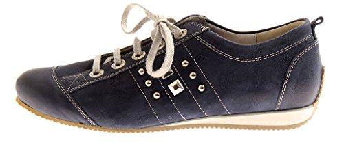 Semler butterweiche Schnürer Damenschuhe Sneaker Schuhe T1023-047 Navy