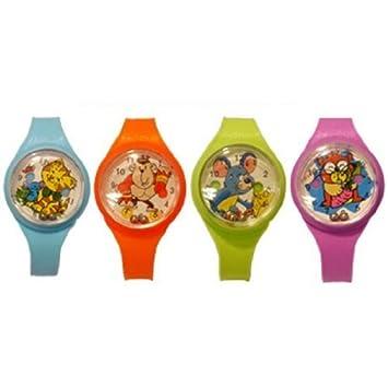 Relojes de Pulsera con Laberinto y Bola x 12 para Cumpleaños y Bolsas de Cotillón: Amazon.es: Juguetes y juegos