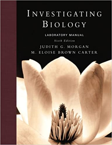 Amazon investigating biology lab manual 6th edition investigating biology lab manual 6th edition 6th edition fandeluxe Images