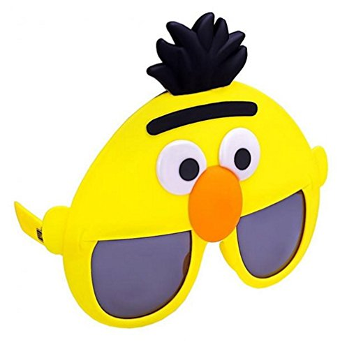 Costume Sunglasses Sesame Street Bert Sun-Staches Party Favors UV400 ()