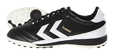 ea6d5174d ... Hummel Unisex - Adult OLD SCHOOL DK TURF Football Shoes Black  blackwhite Size ...