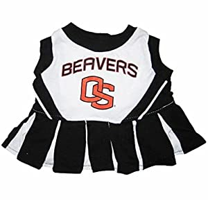 OREGON STATE BEAVERS ★ CHEERLEADER DOG DRESS OUTFIT ★ ALL SIZES ★ LICENSED NCAA (M)