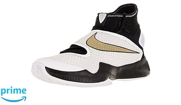 new arrival f74b3 34045 ... ireland amazon nike mens zoom hyperrev 2016 black metallic gold white  basketball shoe 11.5 men us