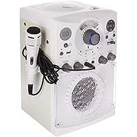 Singing Machine SML385UW Bluetooth Karaoke System with...