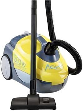 DeLonghi Aquill XTW 15 E - Aspiradora (1500W, 300W, Electrónico, Cilindro, Combi, De plástico) Gris, Amarillo: Amazon.es: Hogar