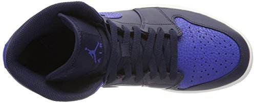a Blu Sneaker Jordan Uomo 1 412 summit Mid Game Royal Collo Obsidian Air NIKE White Alto nTwxX5
