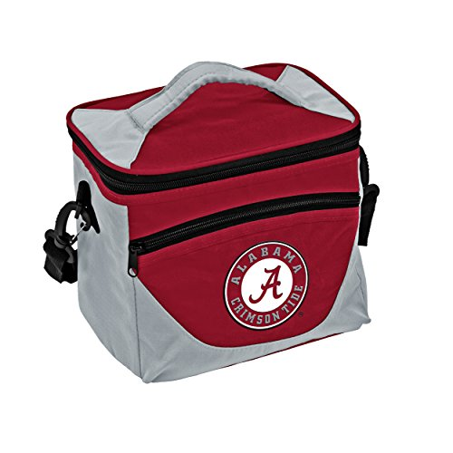 Logo Brands Collegiate 9-Can Cooler Tote with Front Dry Storage Pocket and Shoulder Strap