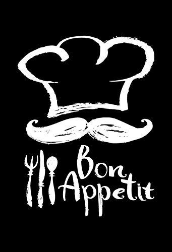Cartel de Chapa genérica 20 x 30 cm Bon Appetit Restaurante ...