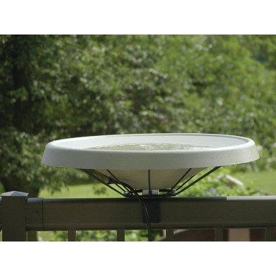 Birds Choice Heated Bird Bath - Deck Mount