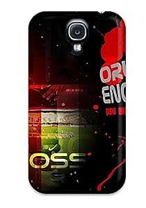Galaxy S4 Case Cover - Slim Fit Tpu Protector Shock Absorbent Case (orlando Engelaar)