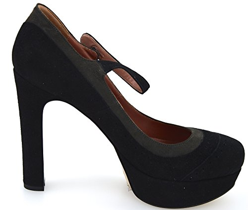 Twin-set Schuh Decolte Dame Wildleder Sort/schiefer Art. Twin-sæt Sko Decolte Damer Ruskind Sort / Skifer Kunst. Cpa4cz Nero/ardesia - Sort/slate Cpa4cz Nero / Ardesia - Sort / Skifer 3RiNzhm2