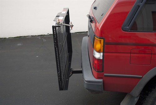 Wheelchair Scooter Mobility Carrier Rack Ramp