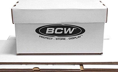 20 Ct. BCW 7'' Record 45 RPM Record Storage Box