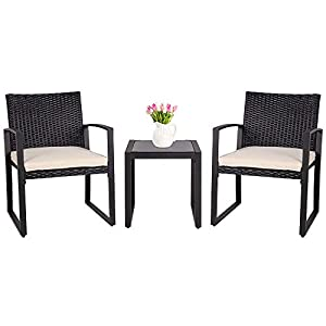 41UGXUlDw6L._SS300_ 100+ Black Wicker Patio Furniture Sets For 2020