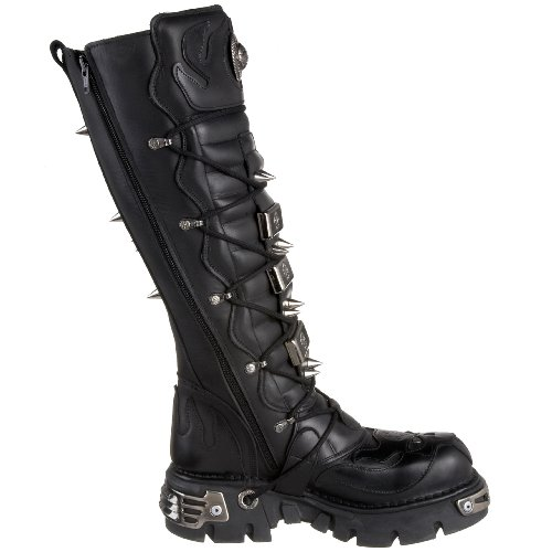 Metallic New Lederstiefel S1 161 Rock M wpwTZqgF6