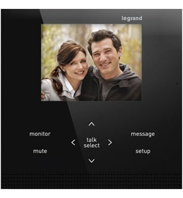 Legrand AI6000M1 adorne Interior Intercom Unit, Magnesium by Legrand