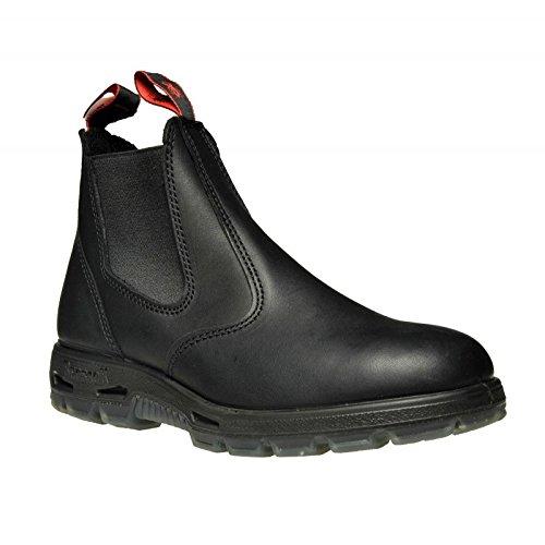 Redback UBBK Easy Escape Slip-On Soft Toe Black Redback Boot Size UK11.5 = US12.5