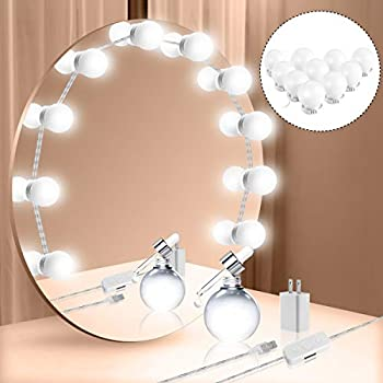 Vanity Mirror Lights Kit Hollywood Style Led Vanity