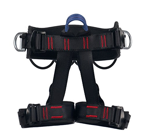 Ingenuity Climbing Harness Professional Mountaineering Rock Climbing Harness,Rappelling Safety Harness Work Safety Belt