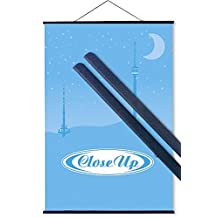"POSTER HANGERS BLACK 91.5CM (36"") (ONE PAIR)"