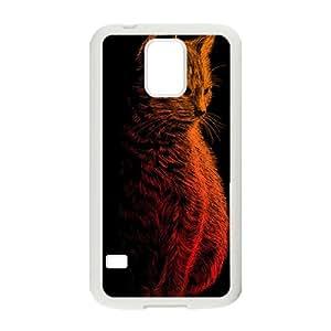 Instinct Samsung Galaxy S5 Cell Phone Case White MUS9176216