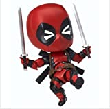marvel mashers loki - Nendoroid 662 Marvel Cute Deadpool Orechan Edition Action Figure Toy Doll Model