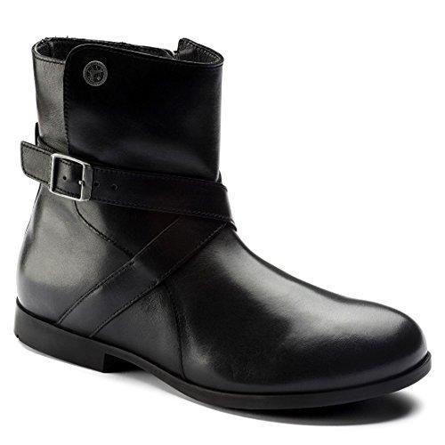 Birkenstock Women's Collins Boot Black Leather Size 40