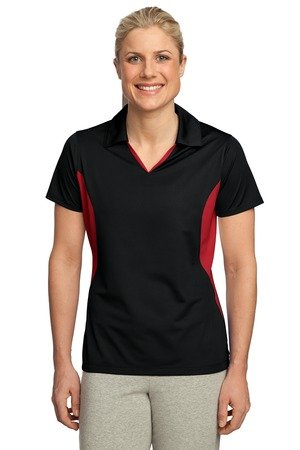 Sport-Tek-Womens-Side-Blocked-Micropique-Sport-Wick-Polo