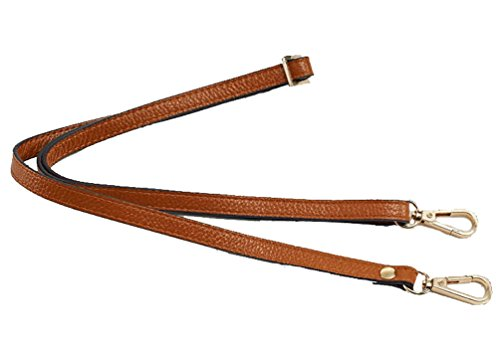 12MM Width Leather Adjustable Length Replacement Cross Body Purse Handbag Bag Shoulder Bag Wallet Strap (Strap Bag Handbag Purse)