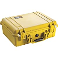 Pelican 1500 Camera Case With Foam (Yellow)
