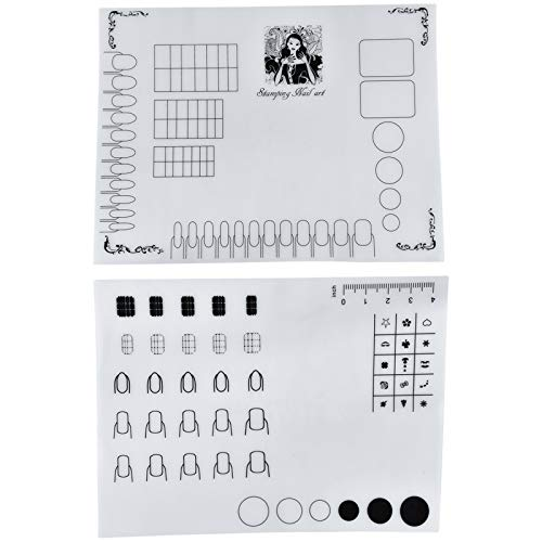 AQUEENLY Silicone Stamping Coloring Practice product image