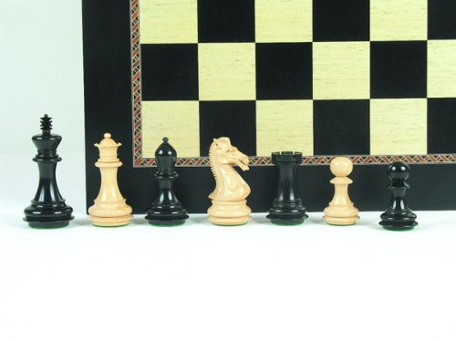Weible Spiele Schachfiguren Supreme Staunton (Höhe König 102mm)