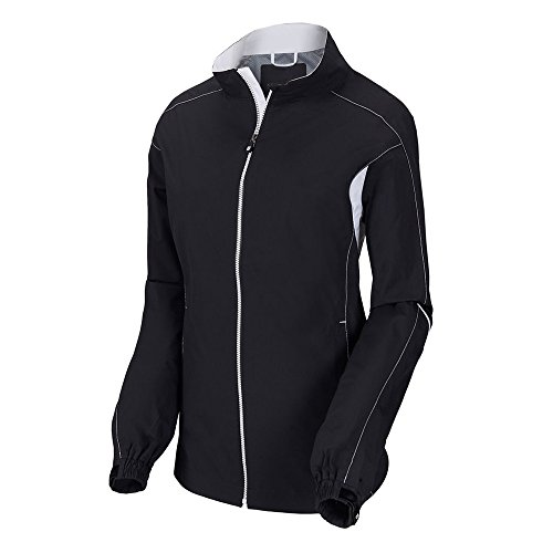 (FootJoy Womens Hydrolite Rain Jacket Black Medium)