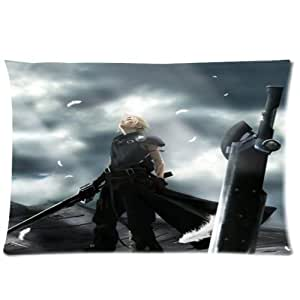 Final Fantasy Custom Zippered Pillow Cases 20x26 (Two sides)