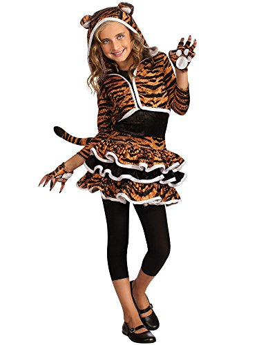 (Drama Queens Tigress Hoodie Costume,)
