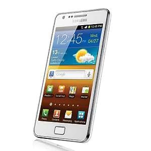 "Samsung Galaxy S II (i9100G) - Smartphone libre Android (pantalla táctil de 4,3"" 480 x 800, cámara 8 MP, procesador de 1.2 GHz), blanco [importado de Alemania]"