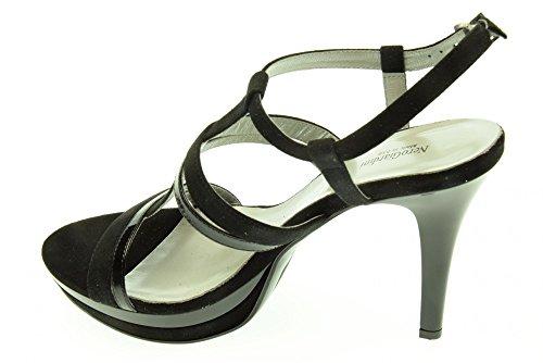 BLACK JARDINES mujer sandalias con tacón P512951DE / 100 Nero
