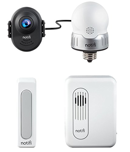 Heath/Zenith SL-3010-00 Notifi Video Doorbell System by Heath/Zenith