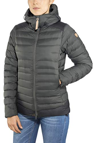 Fjallraven - Women's Keb Touring Down Jacket, Stone Grey-Black, XS