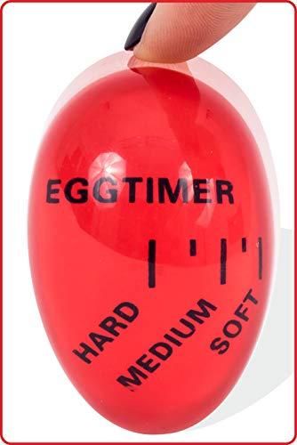 MEVIS LINE - Egg Timer Color Changing for Soft, Medium or Hard Boiled Eggs