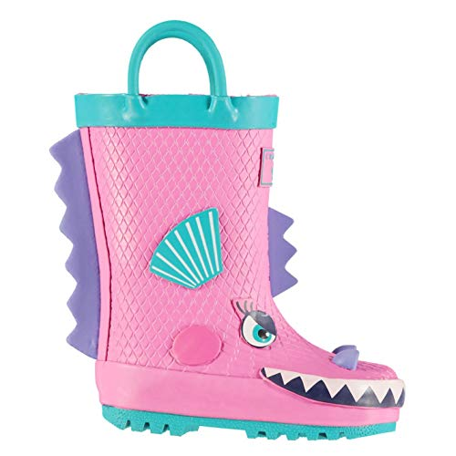 Crafted Kids 3D Infants Wellies Wellington Boots Shoes