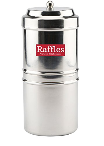 Raffles Premium Stainless Steel South Indian Coffee Filter/Drip Coffee Maker