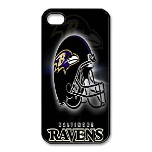 iphone4 4s Phone Case Black Baltimore Ravens VBN7146569
