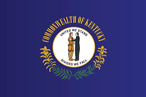Kentucky State Flag Mural Giant Poster 36x54 inch