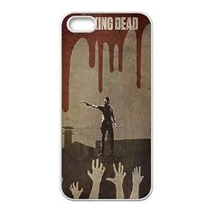 zombie walking dead hands Hard Back Durable Case for Iphone 5,5S,diy zombie walking dead hands case